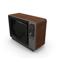 Old TV National Panacolor PNG & PSD Images