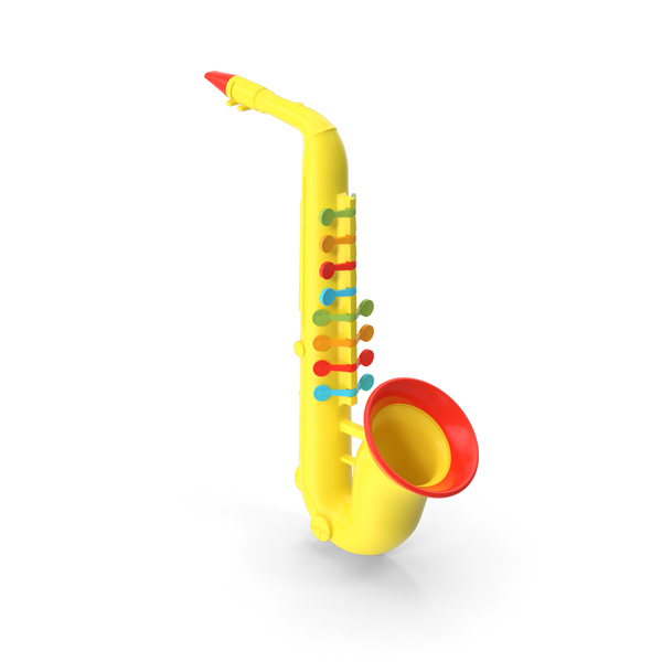 Plastic Colorful Toy Saxophone PNG & PSD Images
