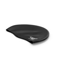 Speedo Black Waterproof Swimming Cap PNG & PSD Images