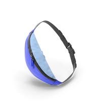 Sport Waist Bag Blue PNG & PSD Images