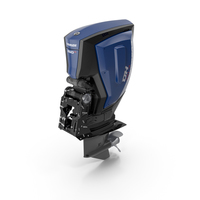 Outboard Motor Evinrude E-TEC G2 PNG & PSD Images