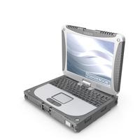 Panasonic Toughbook CF-19 Notebook PNG & PSD Images