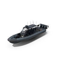Patrol Inflatable Boat ZH-1100 MACH II OB 2019 PNG & PSD Images