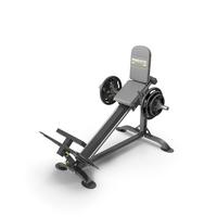 Powertec P-CLS10 Compact Leg Sled PNG & PSD Images