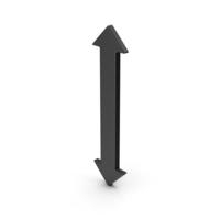 Symbol Black Arrow Up Down PNG & PSD Images