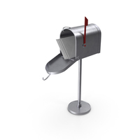 Post Box with Letters PNG & PSD Images