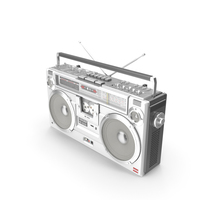 Retro Boombox Sharp GF-9292 PNG & PSD Images