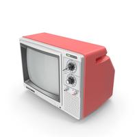 Retro TV HITACHI KidoColor PNG & PSD Images