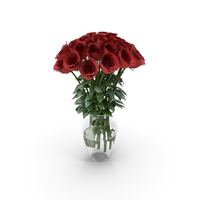 Roses in Vase PNG & PSD Images