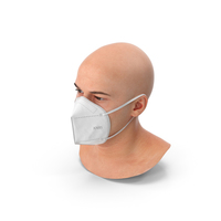 Marcus with Respiratory Mask PNG & PSD Images
