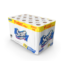 Scott Limited Edition Bath Tissue 45 Rolls PNG & PSD Images