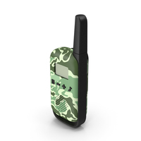 Walkie Talkie Portable Radio Camouflage PNG & PSD Images