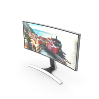 Samsung Ultra WQHD LED Curved Monitor 34-inch PNG & PSD Images