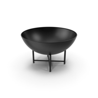 Iron Fire Bowl PNG & PSD Images
