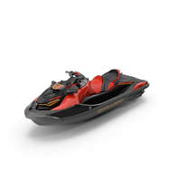 Sea-Doo RXT-X 300 Red Performance Watercraft 2019 PNG & PSD Images