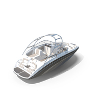 Speedboat Yamaha 242 Limited S PNG & PSD Images
