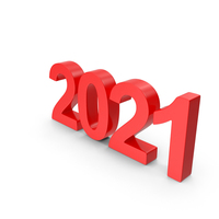 2021 Red PNG & PSD Images