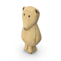 Carved Polar Bear Ornament PNG & PSD Images