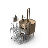 Alcohol Production Plant PNG & PSD Images