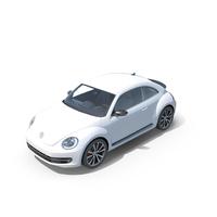 Volkswagen Beetle 2012-2017 PNG & PSD Images