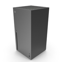 X-Box Series X Console PNG & PSD Images