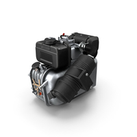 Small Diesel Engine PNG & PSD Images