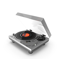 Technics Turntable SL-1210 PNG & PSD Images