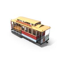 San Francisco Cable Car PNG & PSD Images