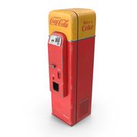1956 Coca Cola Vending Machine PNG & PSD Images