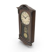 Bulova Pendulum Wall Clock PNG & PSD Images