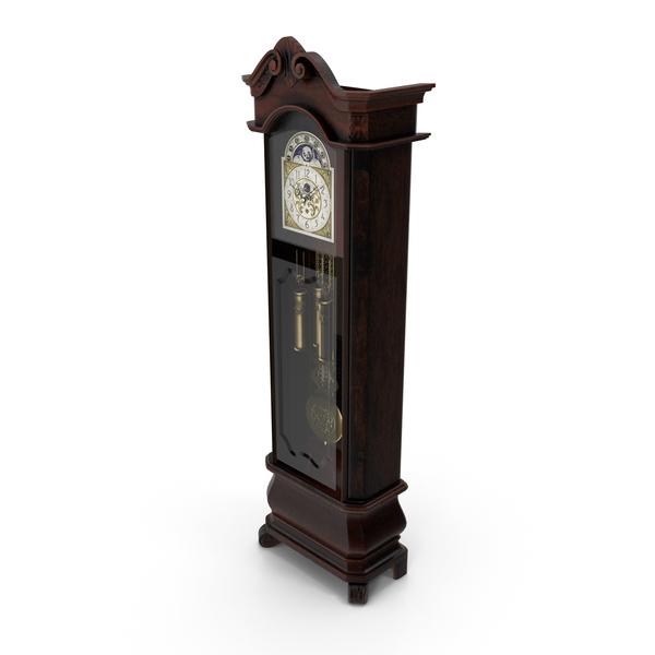 Howard Miller Grandfather Clock PNG & PSD Images