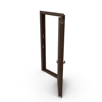 Entrance Door Walnut Dirty PNG & PSD Images