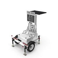 Decatur Speed Radar Trailer 300MX PNG & PSD Images