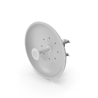 Parabolic Dish Antenna for 5GHz PNG & PSD Images