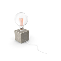 Gramercy Home Cube Table Lamp PNG & PSD Images