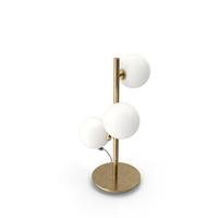 Bubble Chandelier Table Lamp PNG & PSD Images
