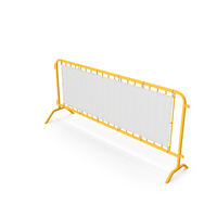 Barrier Yellow Perforated PNG & PSD Images