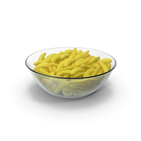 Bowl with Gummy Bananas PNG & PSD Images