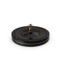 Black Roulette Wheel PNG & PSD Images