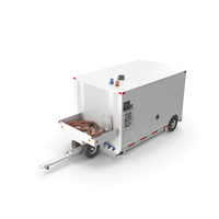 Aircraft Air Start Unit Trailer Mounted PNG & PSD Images