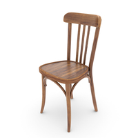 Old Bistrot Chair PNG & PSD Images