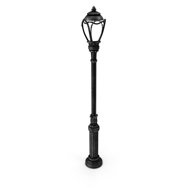 Central Park Lamp Post PNG & PSD Images