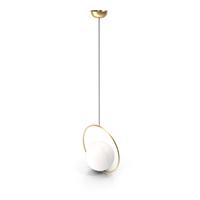 Suspension Pendant Light Brass PL372 PNG & PSD Images