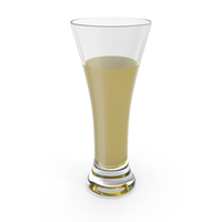Glass with Yellow Water PNG & PSD Images