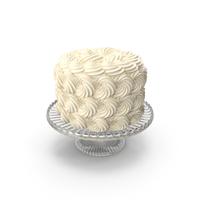 White Rose Swir Cake PNG & PSD Images