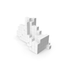 White Block Construction PNG & PSD Images