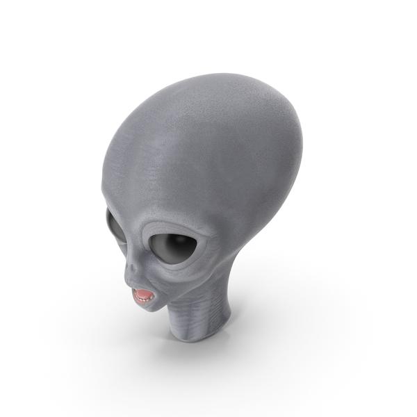 Alien Head PNG & PSD Images