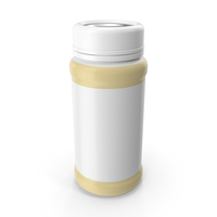 Baby Bottle Container 100ml PNG & PSD Images