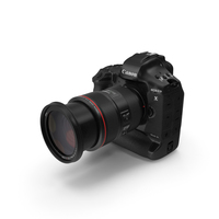 Canon 1DX with Zoom Lens 24 70 PNG & PSD Images