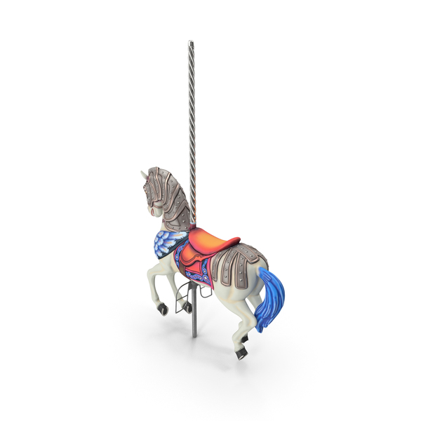 Carousel Horse White PNG & PSD Images